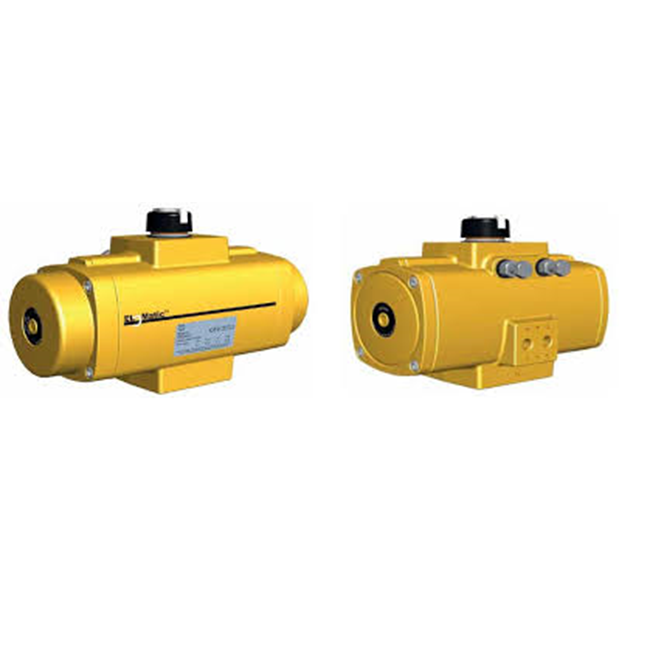 Elomatic F range Rack&Pinion pneumatic actuators