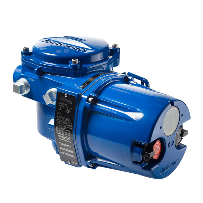 Limitorque QX intelligent quartern-turn electric actuators