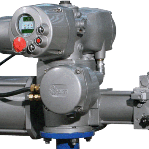 EFS quarter-turn electro-hydraulic intelligent actuator